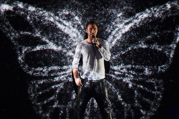 Mans-Zelmerloew-of-Sweden-performs-on-stage-during-the-second-Semi-Final-of-the-Eurovision-Song-Contest-2015